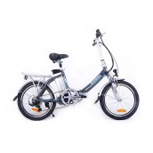 Велогибрид Eccoffect H-SLIM - синий