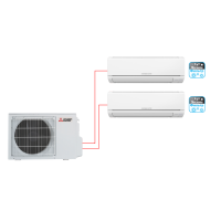 Настенный кондиционер (мульти-сплит система) Mitsubishi Electric MSZ-DM25VA×2 / MXZ-2DM40VA