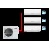 Настенный кондиционер (мульти-сплит система) Mitsubishi Electric MSZ-DM25VA×2 + MSZ-DM35VA / MXZ-3DM50VA