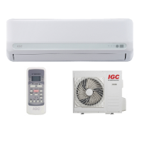 Настенный кондиционер (сплит-система) IGC RAS/RAC-24WHQ