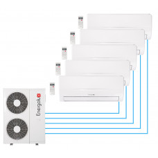 Настенный кондиционер (мульти-сплит система) Energolux SAM42M1-AI/5+SAS09M2-AI 4 шт